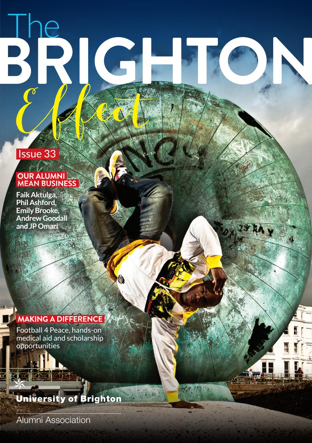 The Brighton Effect 33 issuu by University of Brighton - issuu