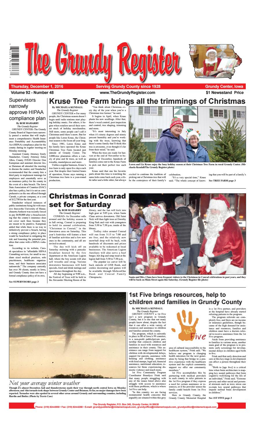 Grundy register december 1 0 by Mid-America Publishing Corporation ...