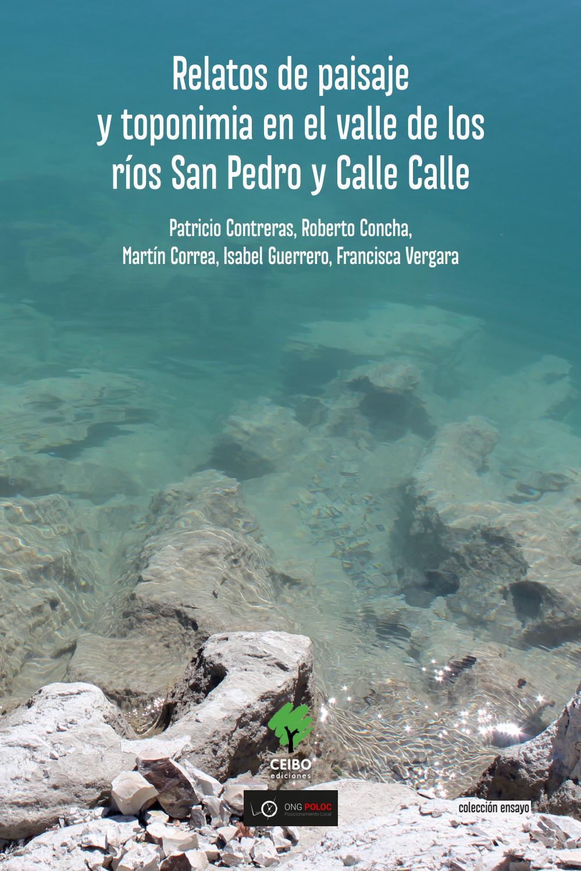 Libro relatos de paisaje y toponimia en el valle de Los ríos San ...