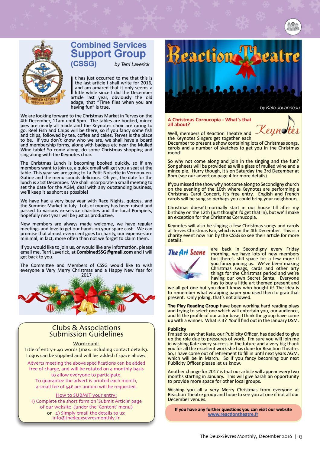 c7a54794f 'The Deux-Sèvres Monthly' magazine, December 16 by The Deux-Sèvres Monthly  - issuu
