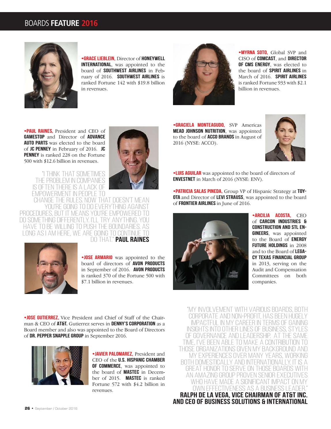 LATINO LEADERS MAGAZINE-SEPTEMBER/OCTOBER ISSUE by Latino Leaders