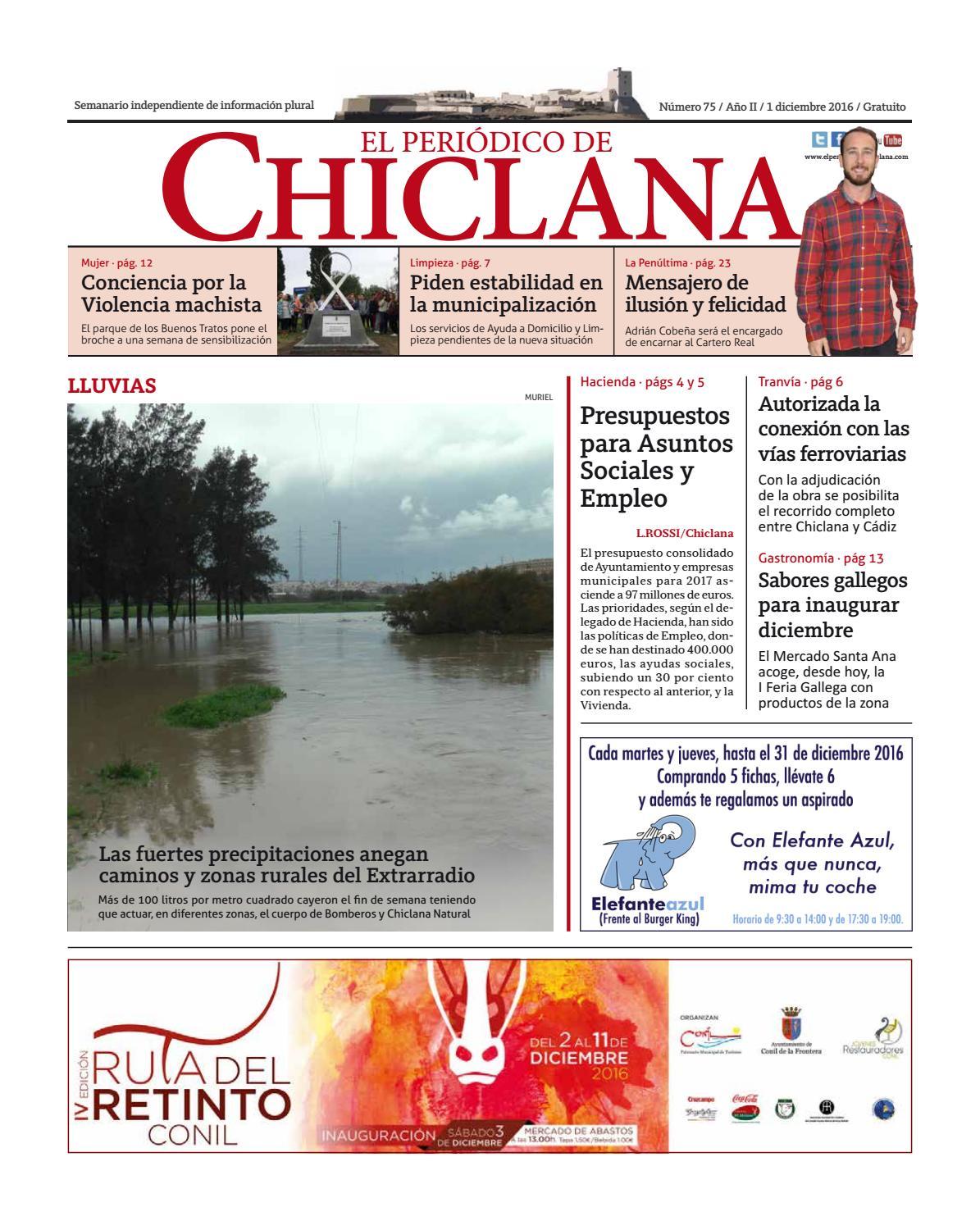 El Periódico de Chiclana nº75 by El Periódico de Chiclana - issuu