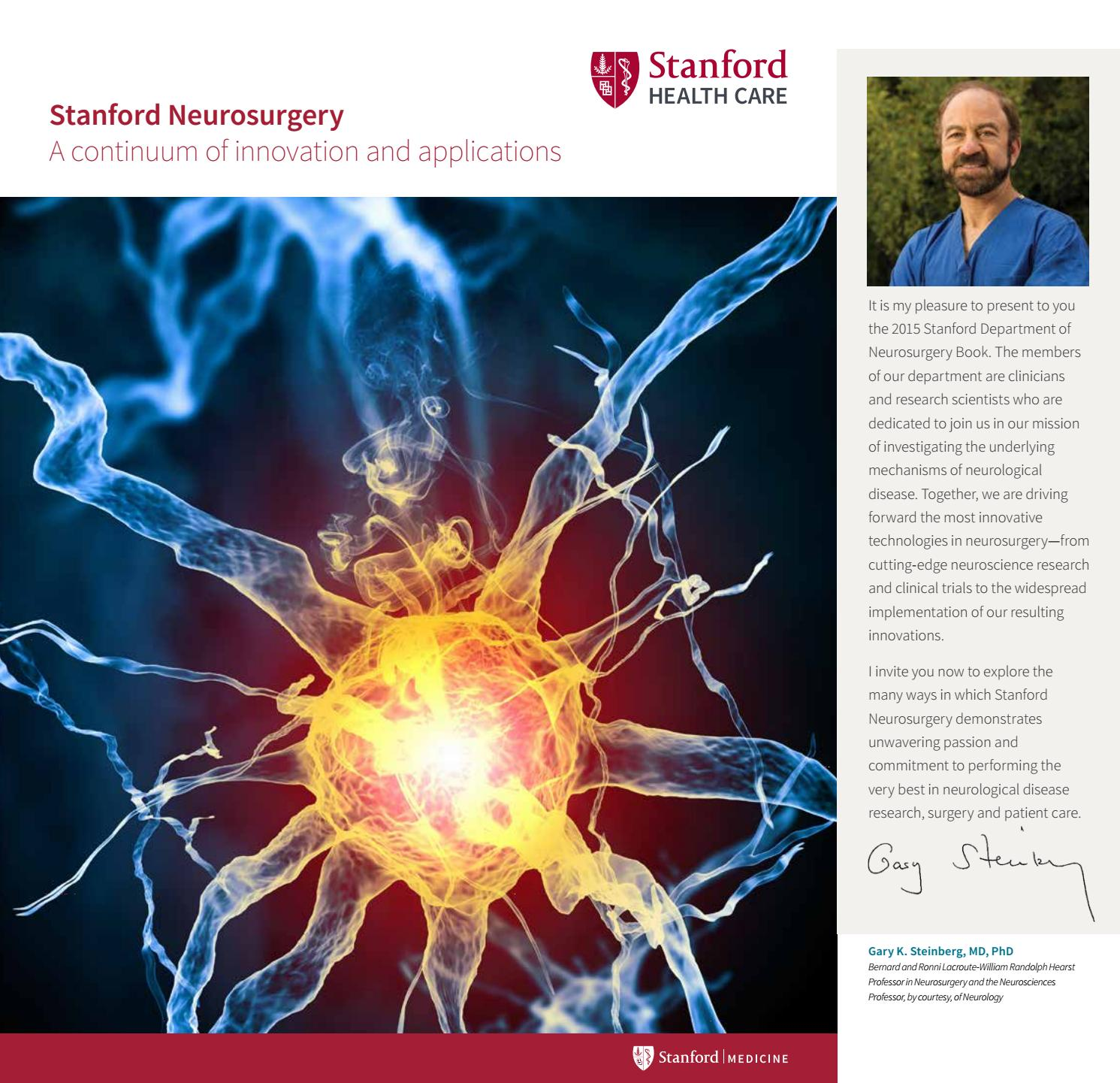 Stanford Neurosurgery by Stanford Health Care - issuu