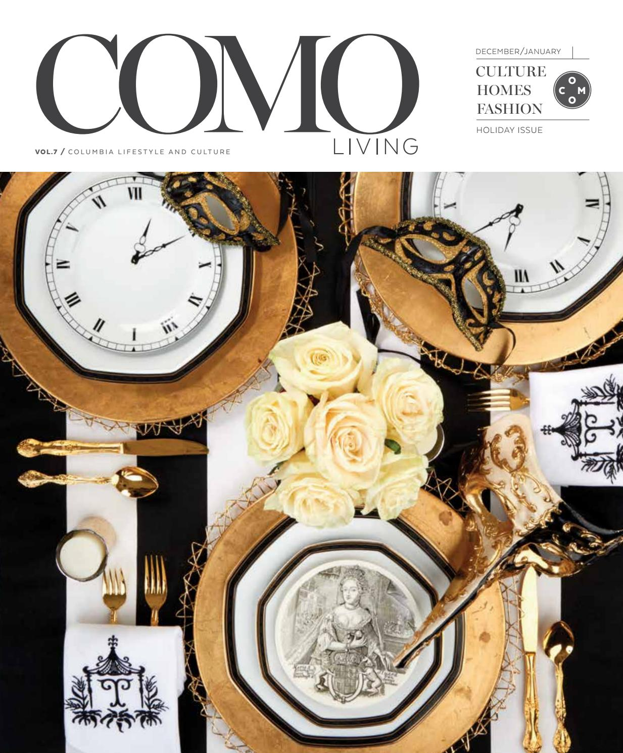 6ebb9bb6f0a COMO Living Magazine - December 2016 January 2017 by Business Times Company  - issuu