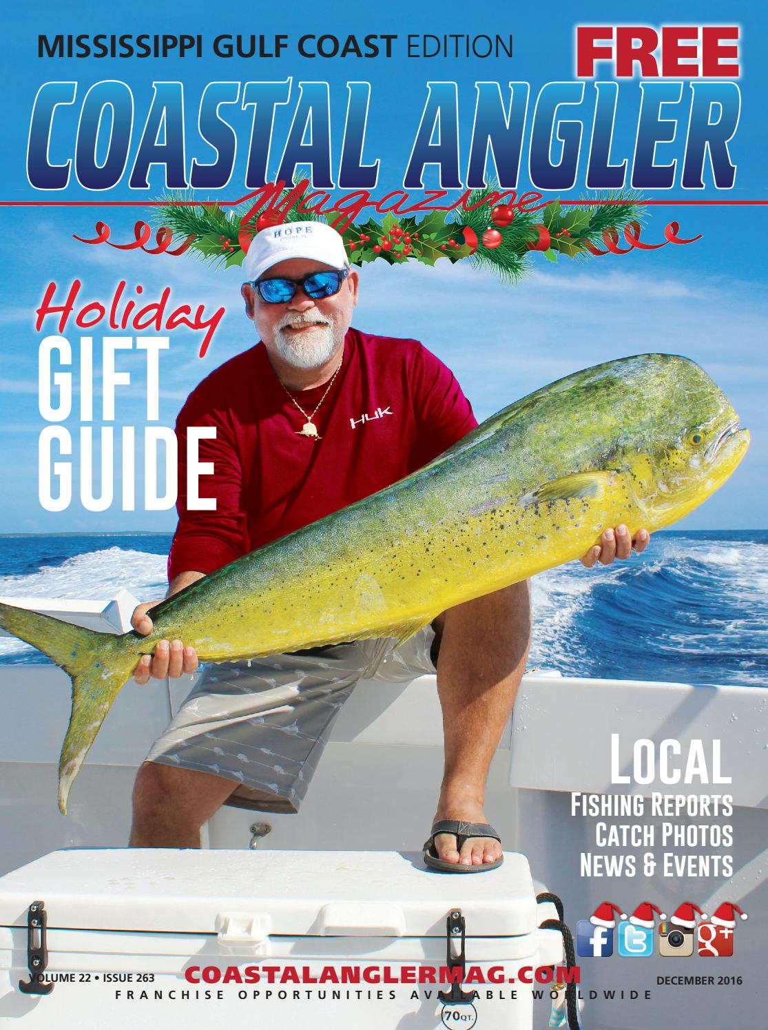 Coastal angler magazine dec mississippi gulf coast by for Gulf coast fishing report