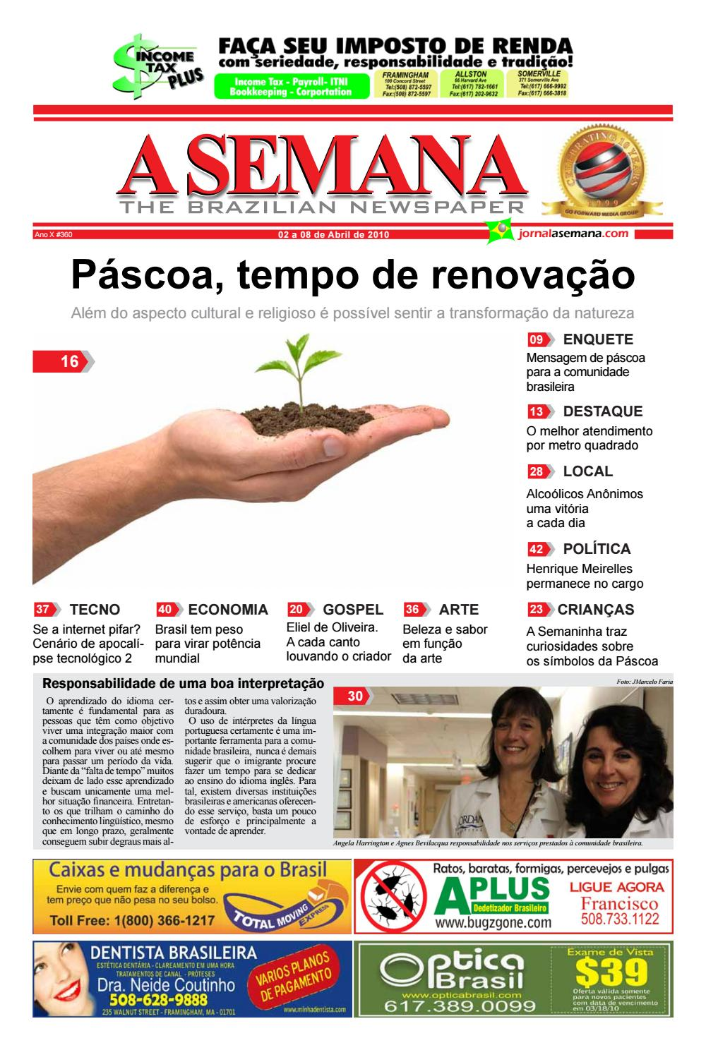 Jornal a semana boston ma usa by jos marcelo faria issuu fandeluxe Image collections