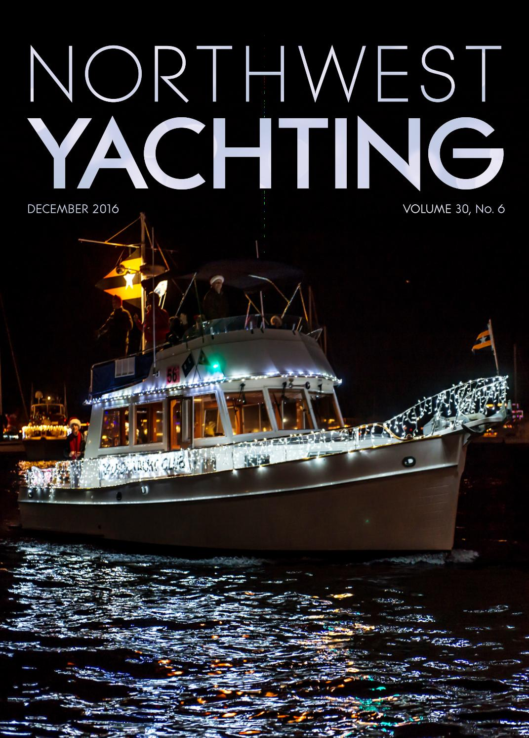 Northwest Yachting December 2016 By Issuu Boat Trailer Wiring Diagrams In Addition Century