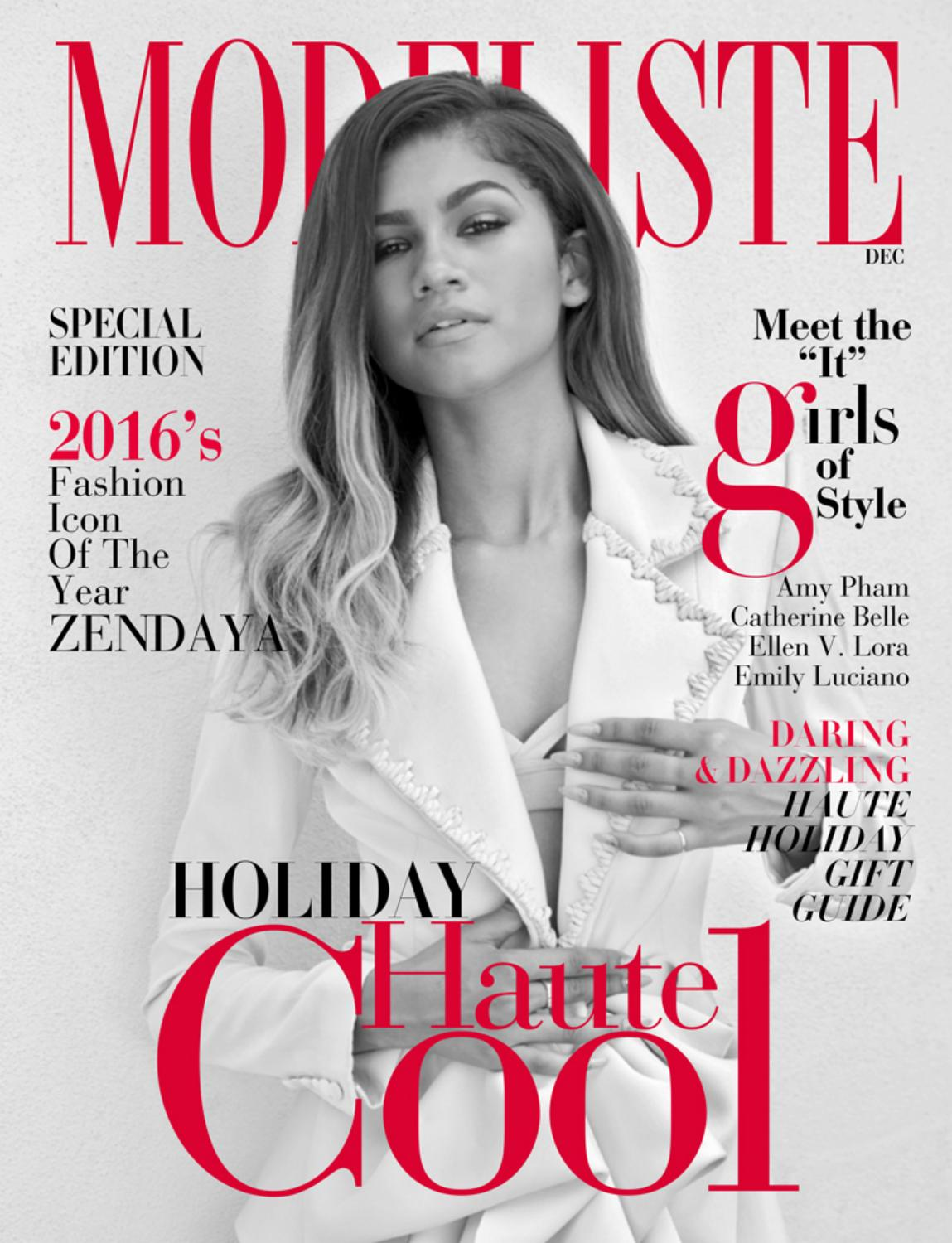 Modeliste december 2016 by modeliste magazine issuu fandeluxe Gallery