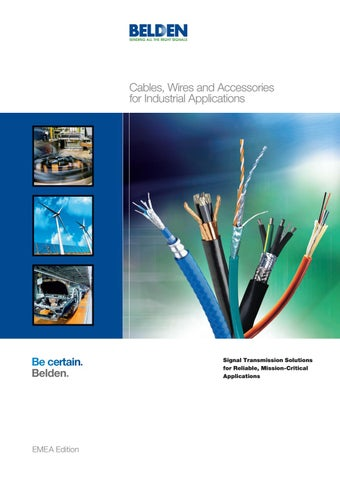 Catalogo Belden Electro Cable Srl By Mauricio Mercado