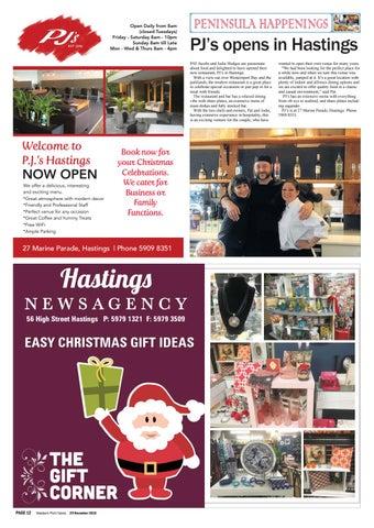 6a519804ee39 29 November 2016 by Mornington Peninsula News Group - issuu