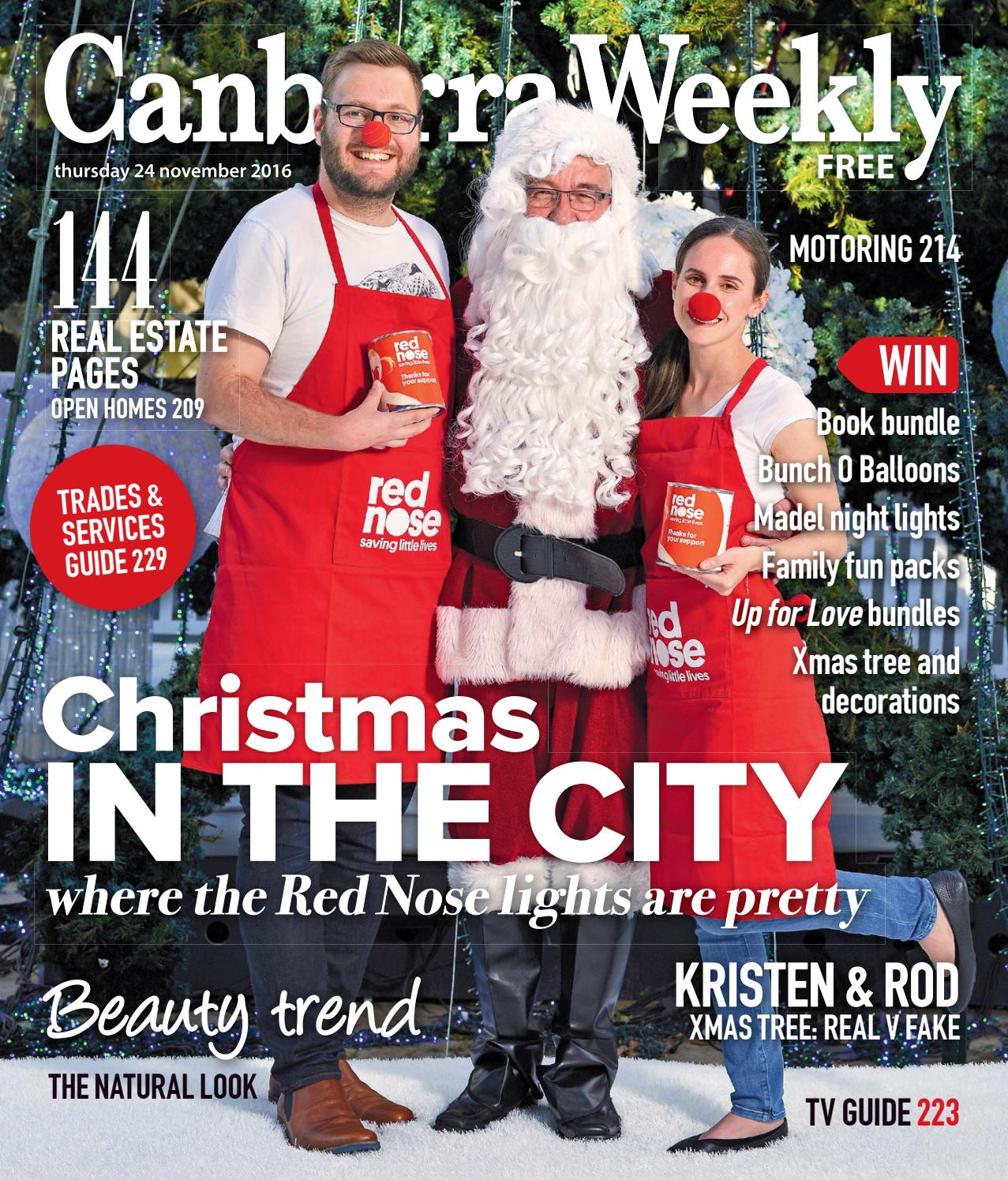 24 November 2016 By Canberra Weekly Magazine Issuu To Install New Circuits For Christmas Lights Root Electric Services