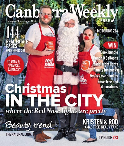 e654881fba1 24 November 2016 by Canberra Weekly Magazine - issuu