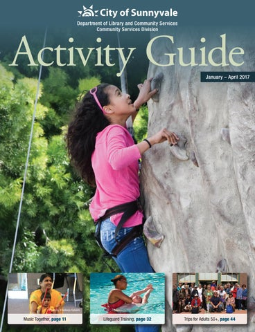 City of sunnyvale summer 2015 activity guide by city of sunnyvale.