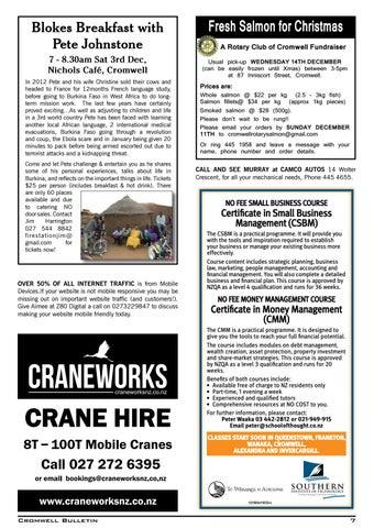 Bulletin 1508 By Cromwell Bulletin Issuu