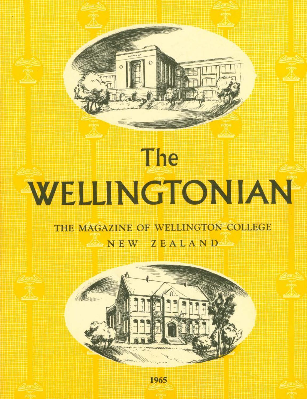 1965 Wellingtonian By Wellington College Issuu