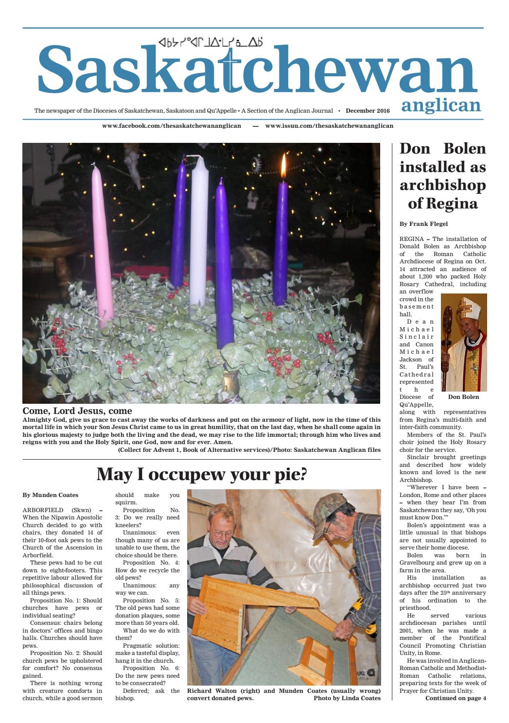 The saskatchewan anglican december 2016 by the saskatchewan the saskatchewan anglican december 2016 by the saskatchewan anglican issuu aiddatafo Image collections