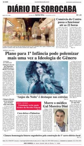 Edição de 1° de dezembro de 2016 by DIÁRIO DE SOROCABA - issuu 564d64e876f8f