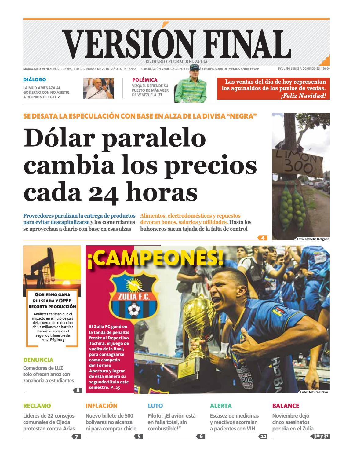 Diario Versión Final by Diario Versión Final - issuu e6cafacf2080