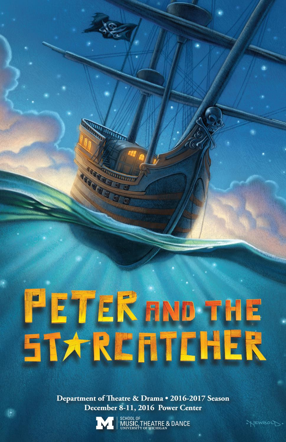 Peter And The Starcatcher Program By University Of