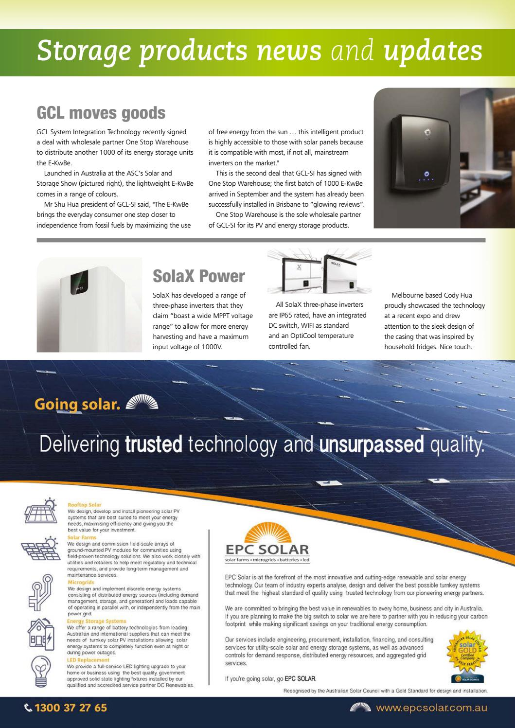 Solar & Storage Magazine - Summer 2016 by Smart Energy