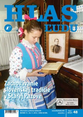 cc46dcedd7bf Hlas 48 2016 by NVU Hlas ľudu - issuu