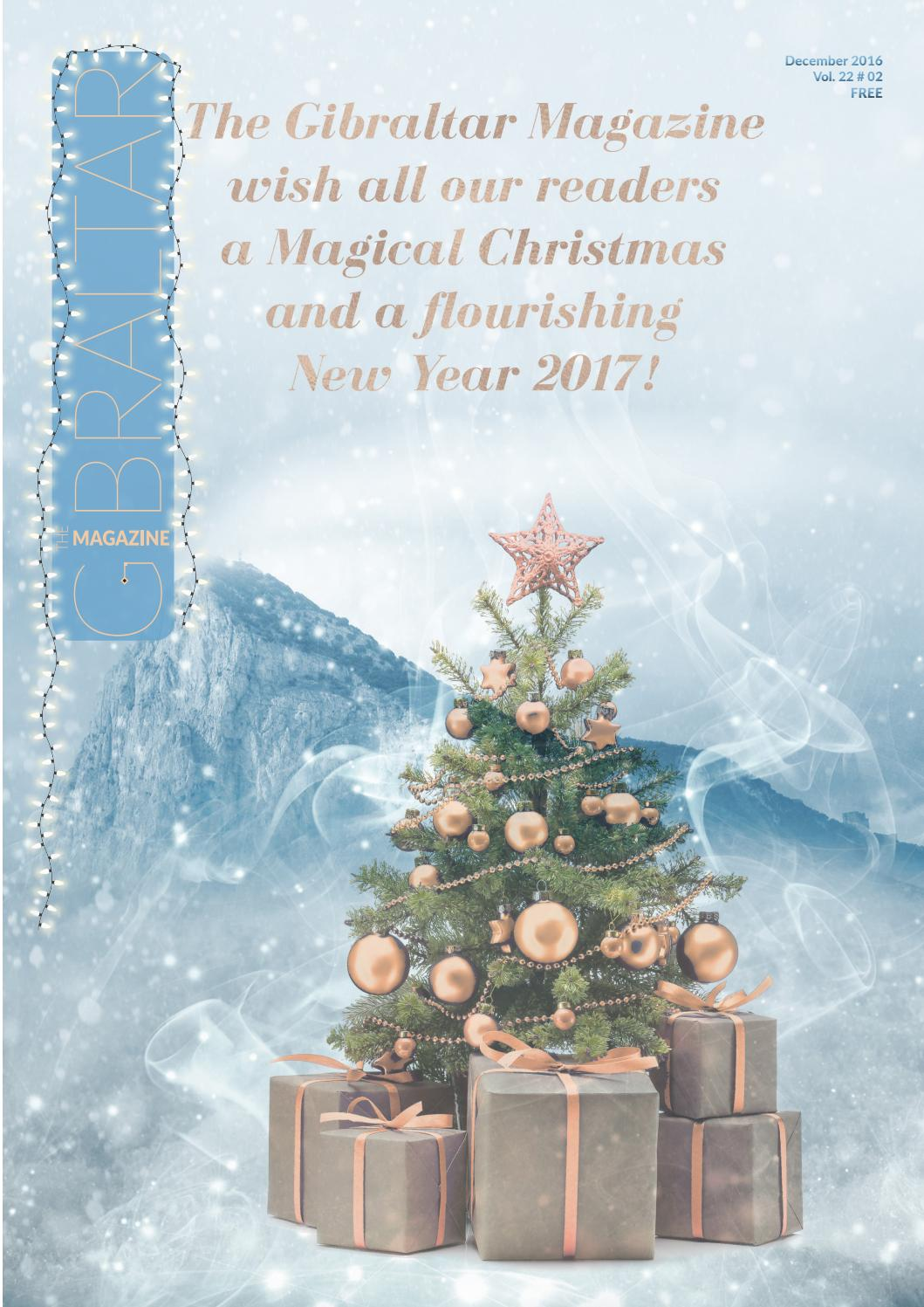 The Gibraltar Magazine - December 2016 by Rock Publishing