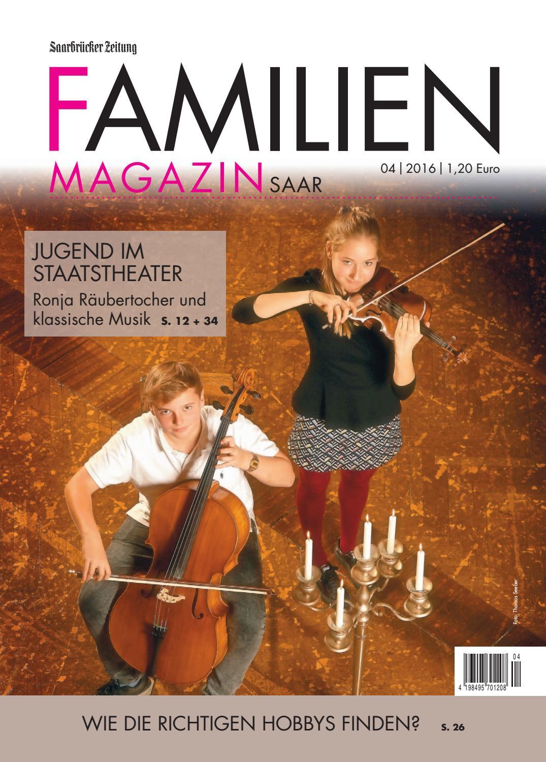 Familien-Magazin 04|2016 by Saarbrücker VerlagsService GmbH - issuu