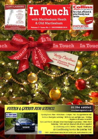 In Touch News With Martlesham U2013 December 2016 By Mansion House ...