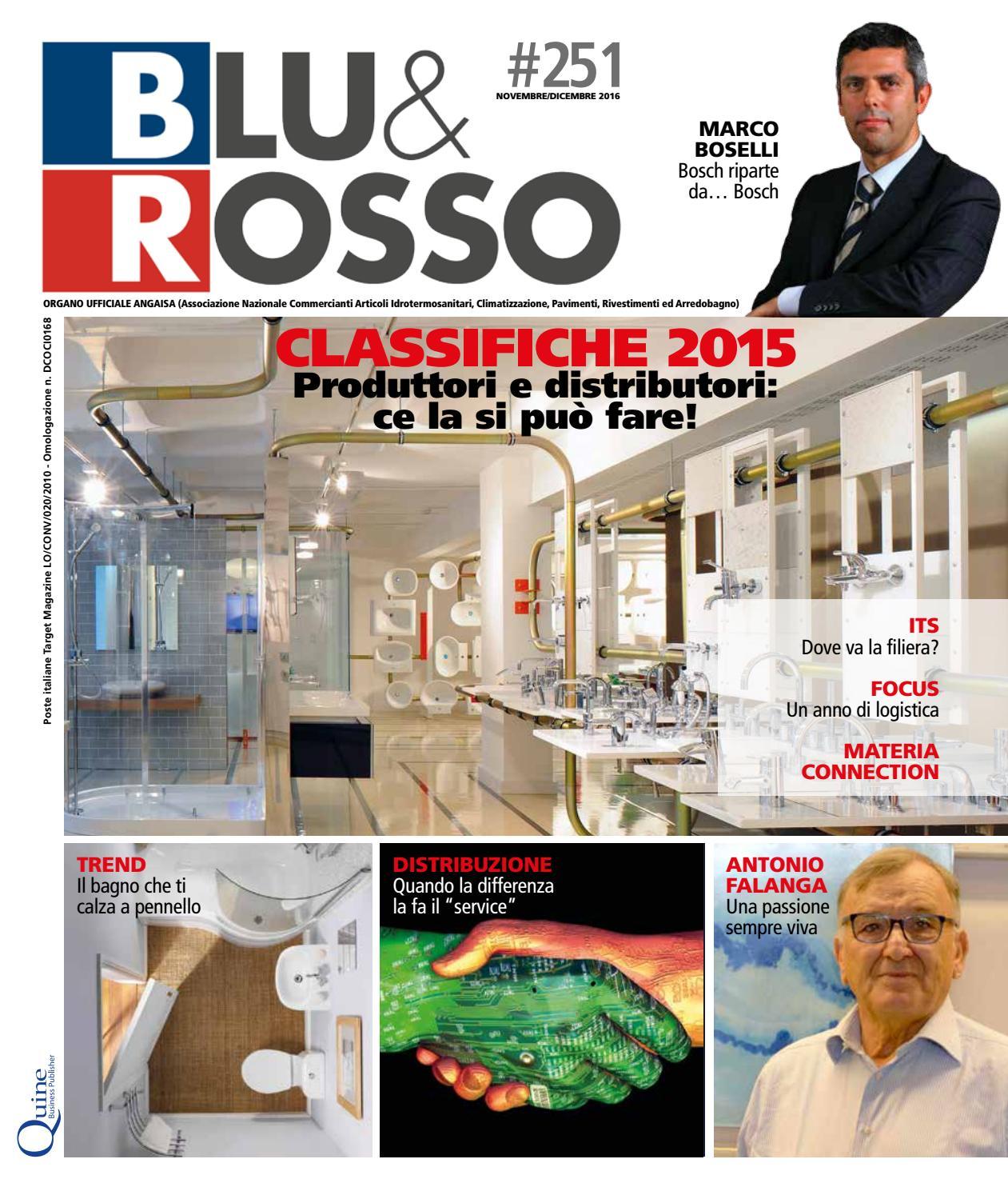 Arrichiello Arredo Bagno Napoli.Blu Rosso 251 Novembre Dicembre By Quine Business Publisher Issuu