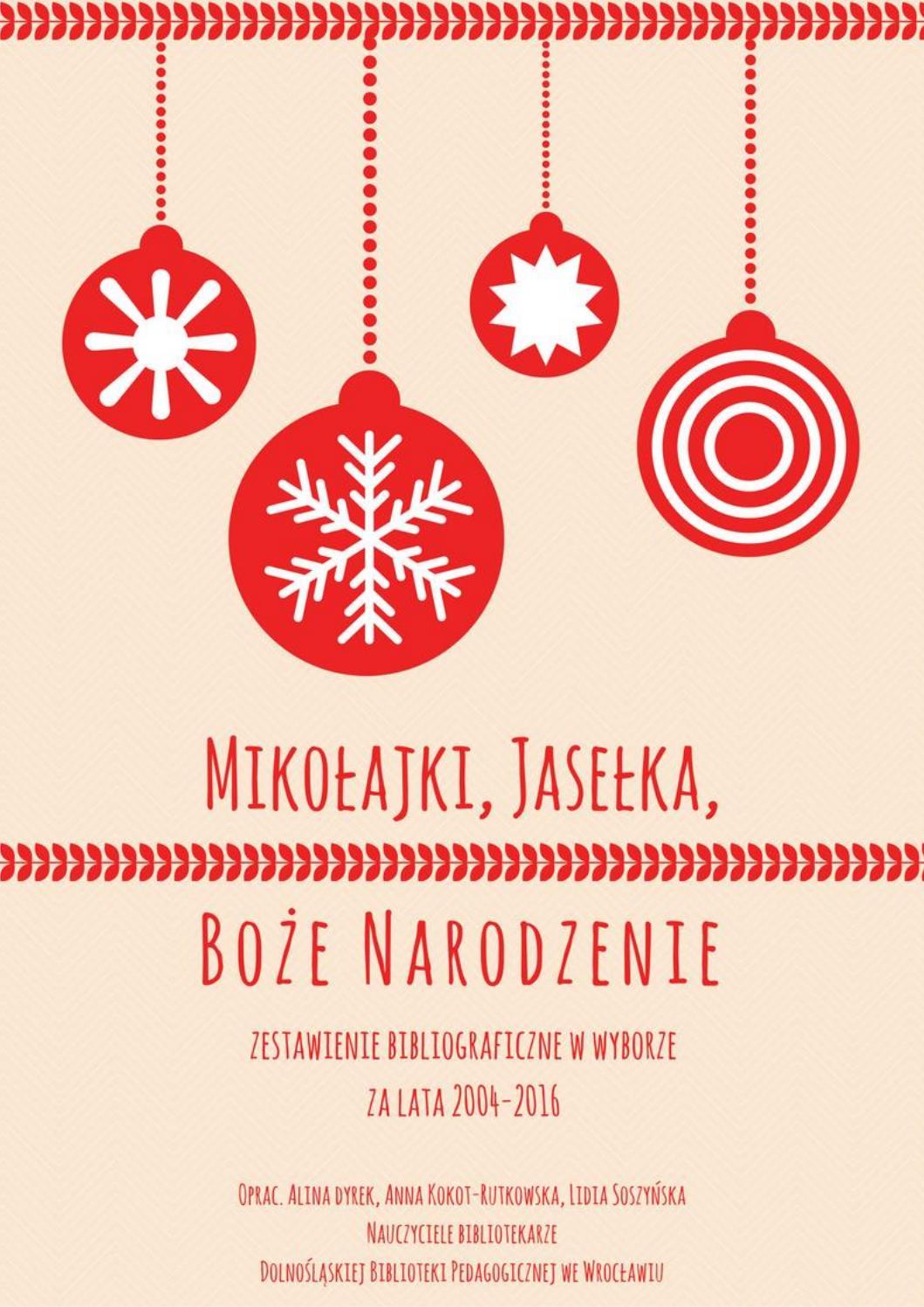 Mikołajki Jasełka Boże Narodzenie By Dolnośląska