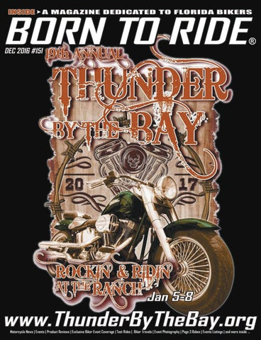 6022e49a1450 Born To Ride Florida Motorcycle Magazine #151 by Born To Ride TV ...