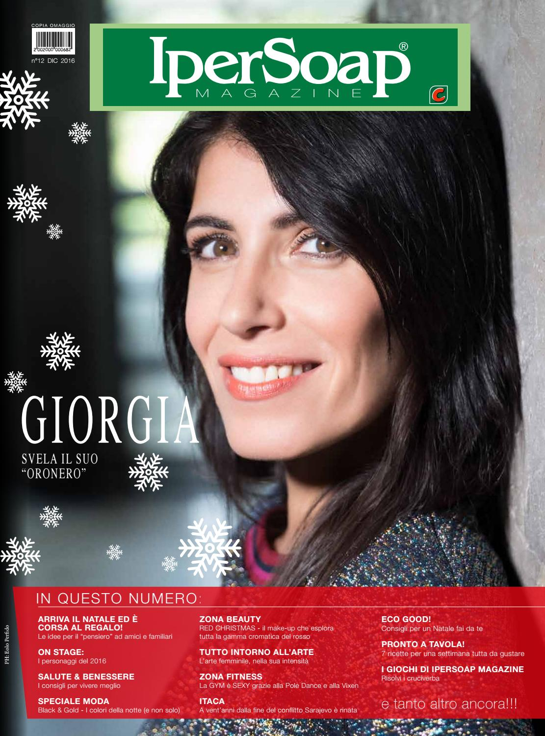 Ipersoap Magazine Dicembre 2016 By Ipersoap Magazine Issuu