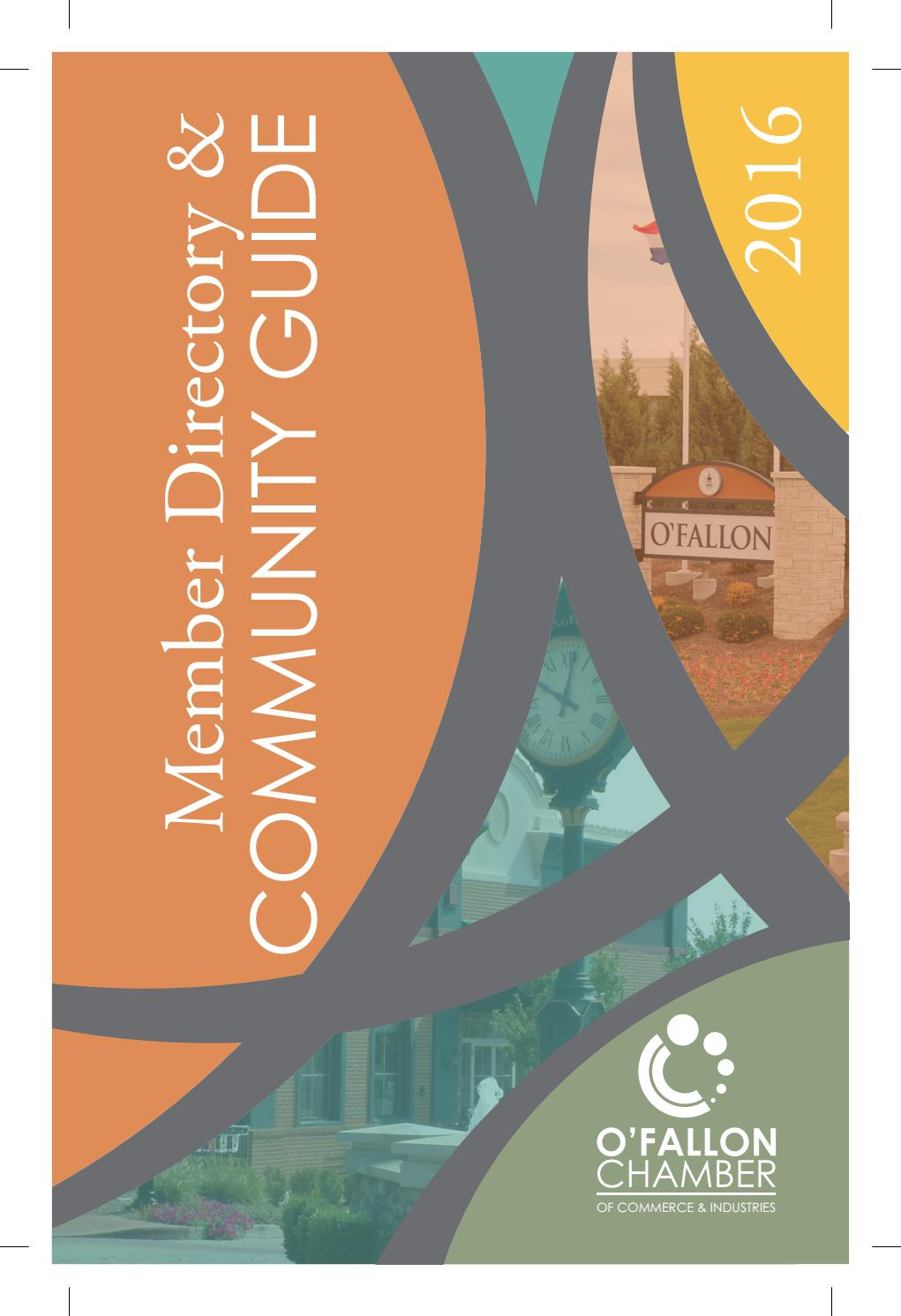 o'fallon chamber 2016 directory & community guide by o'fallon