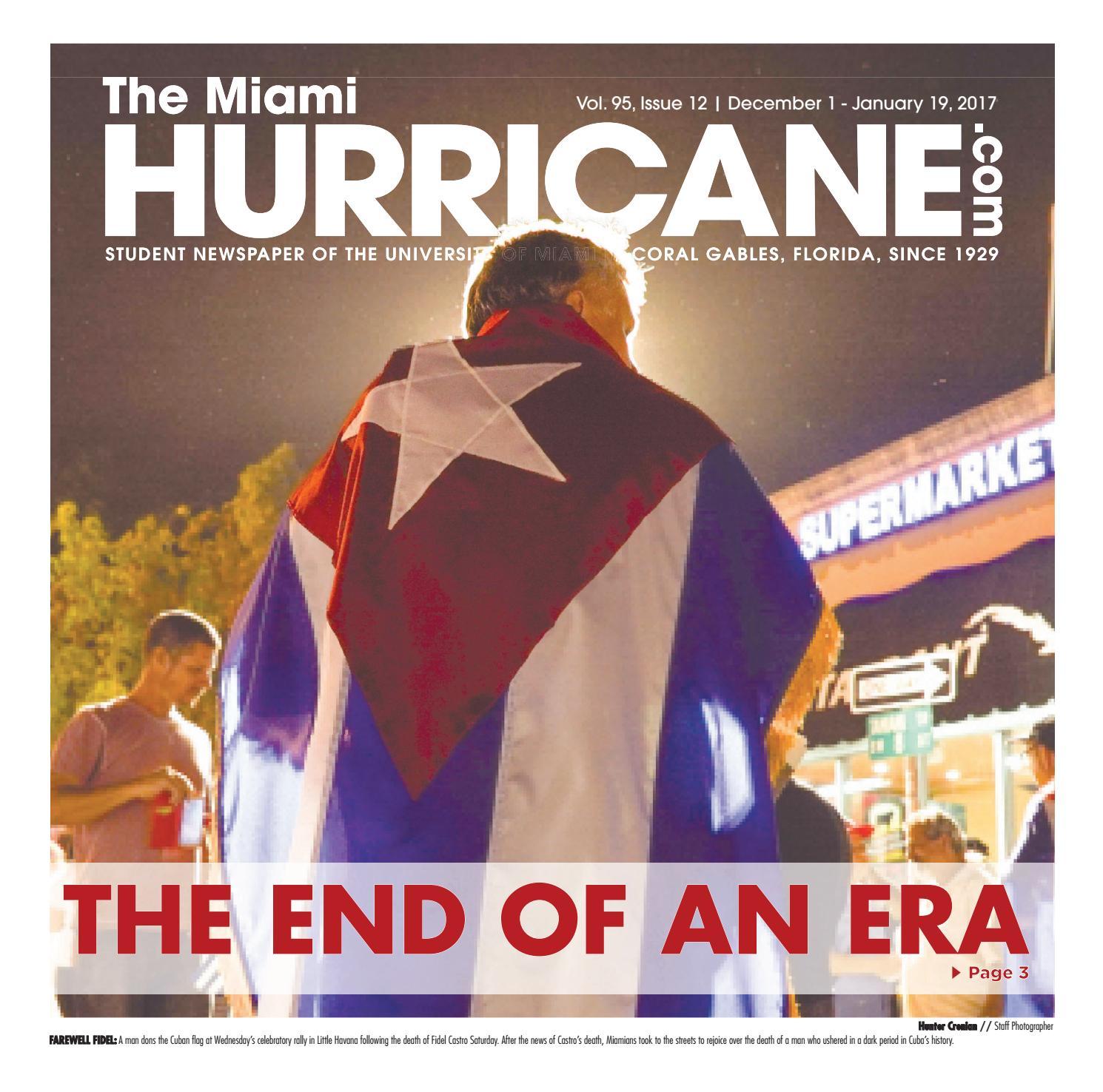 The Miami Hurricane - December 1, 2016 by The Miami