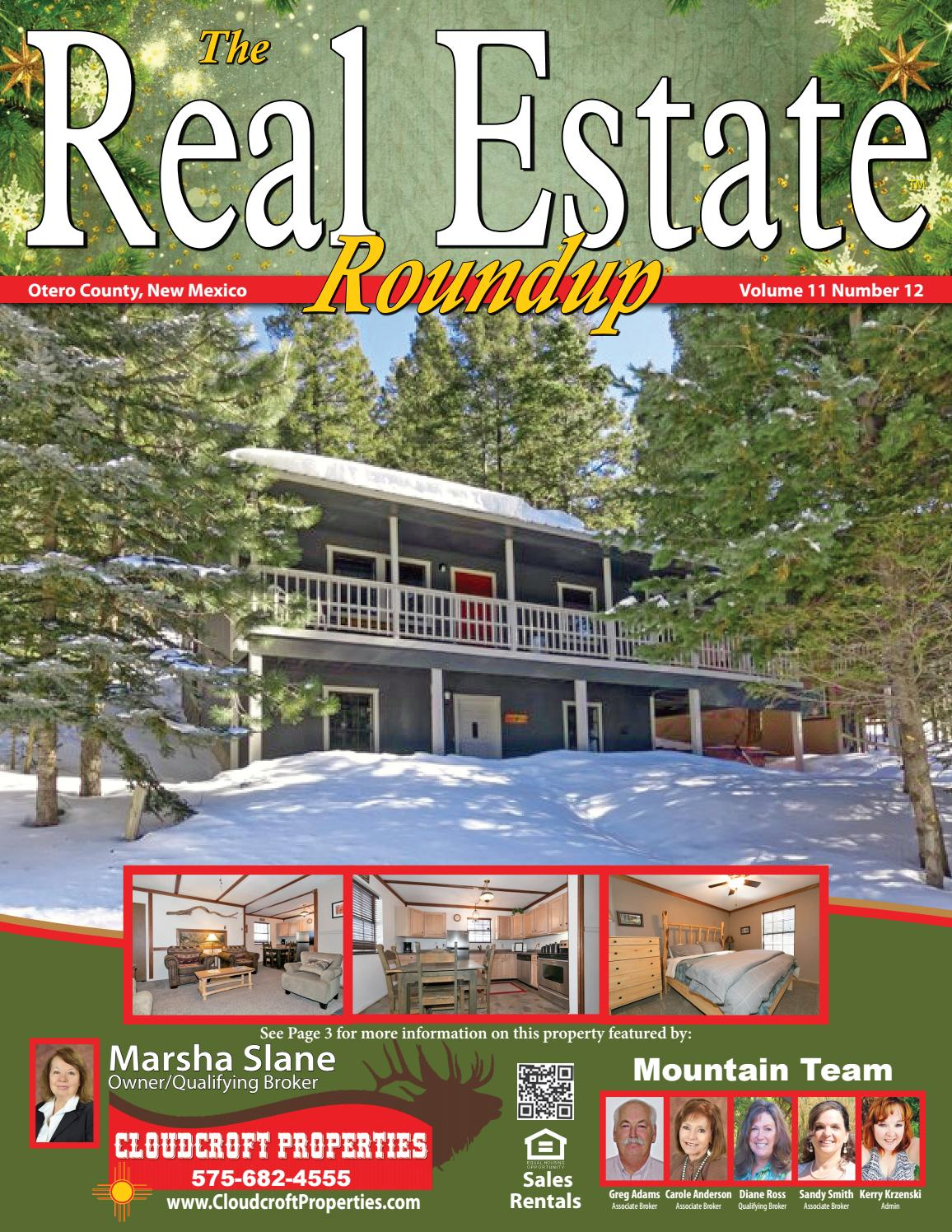 New mexico otero county cloudcroft - Alamogordo Real Estate With Homes Land Listings For Sale Cloudcroft Tularosa High Rolls 1112 By Helpful Publications Issuu