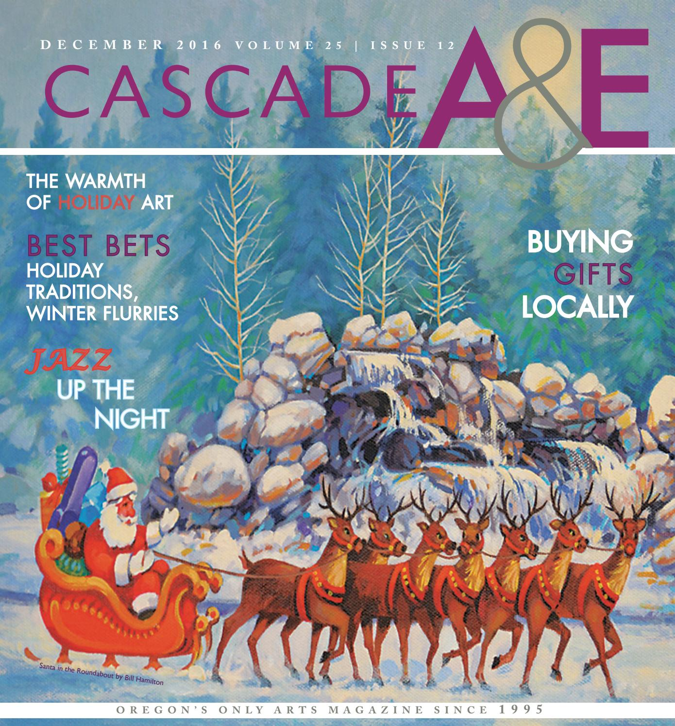 Cascade Arts Entertainment December 2016 By Publications 70450 Swag Light Hook Kit Brass Finish Buy Lamp Wiring Issuu