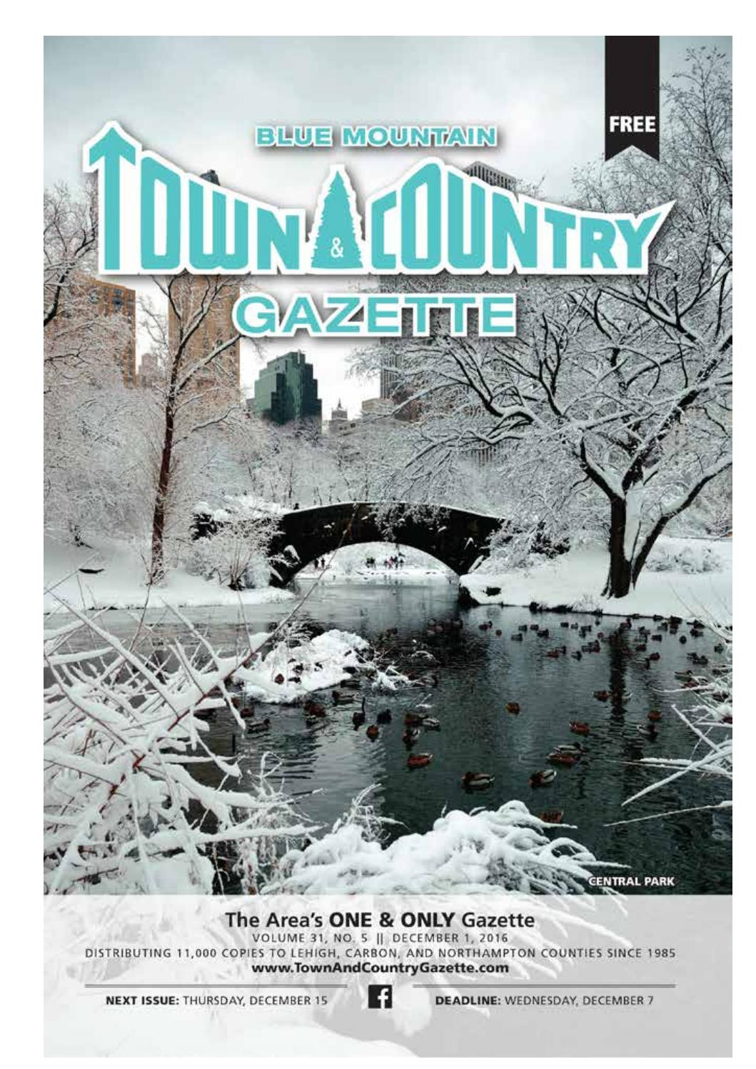 Town Amp Country Gazette December 1 By Innovative Designs