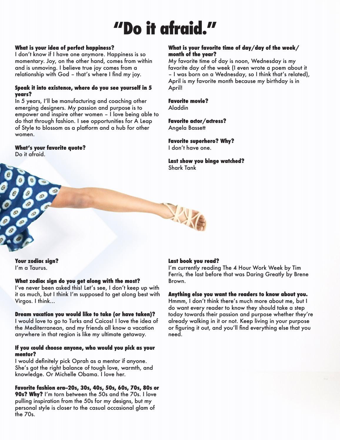 Vol 2: No 11 | December 2016 (Stay Warm) SALYSÉ Magazine by