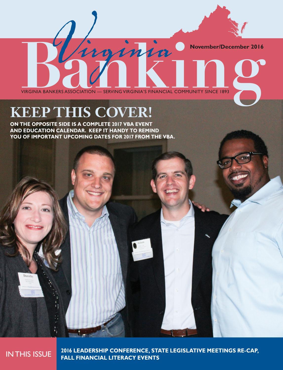virginia banking november december 2016 by the warren group issuu