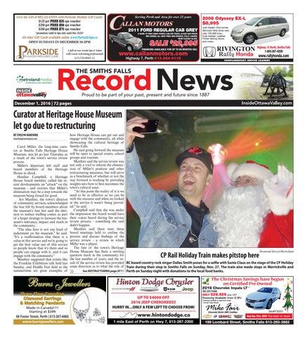a1b707ac8144a9 Smithsfalls120116 by Metroland East - Smiths Falls Record News - issuu