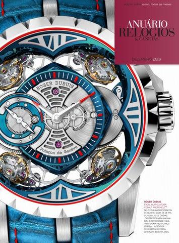 c5db3f1478f Anuário Relógios   Canetas - Dezembro 2016 by Anuário Relógios ...