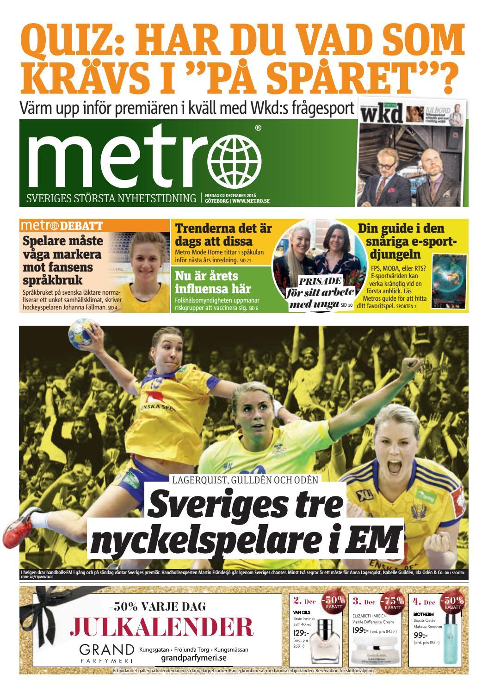 20161202 se goteborg by Metro Sweden - issuu c0f4b26088b67