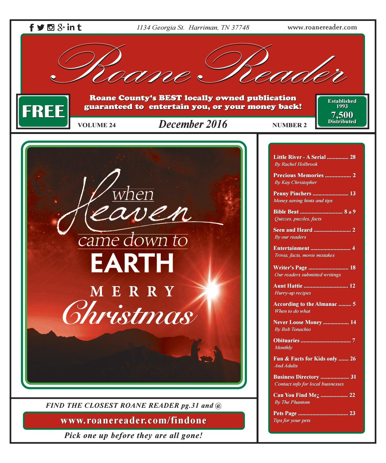 December2016 by The Roane Reader - issuu