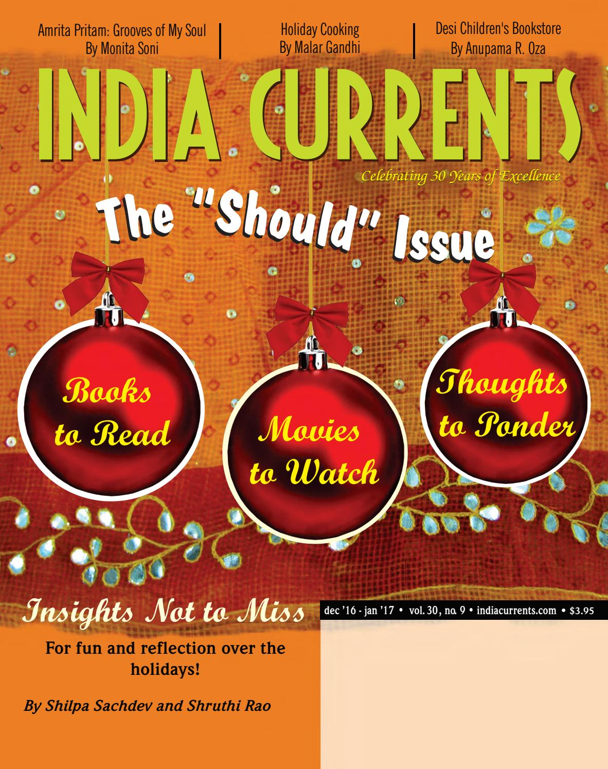 India Currents Dec '16 - Jan '17 edition by India Currents