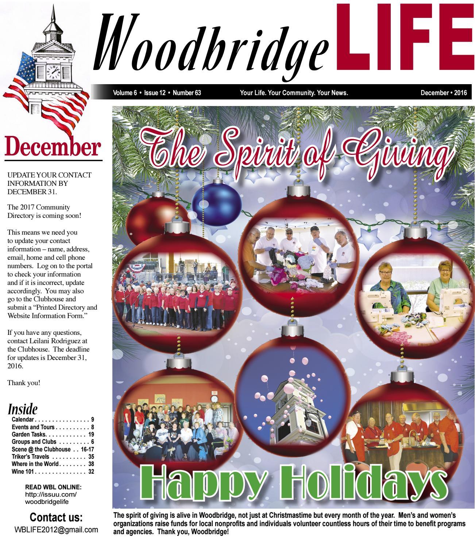 WBL December 2016 by Woodbridge LIFE issuu