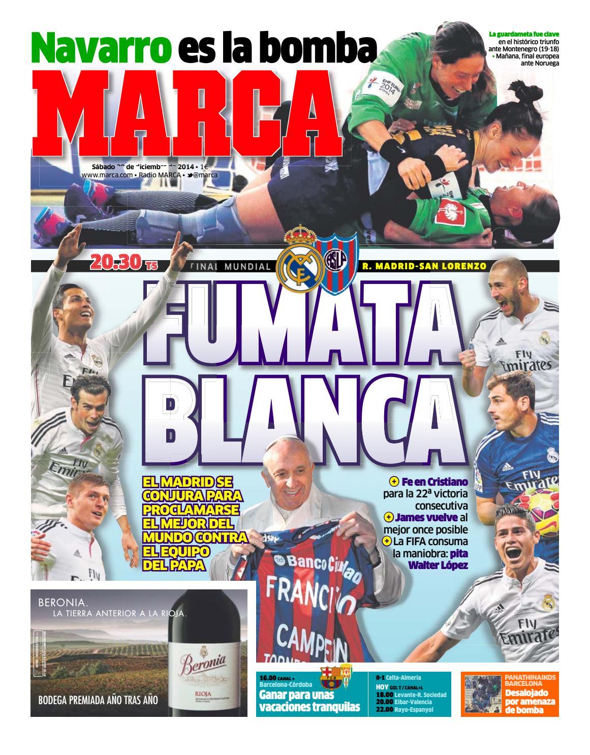Marca 20141220 By Juan Carlos Matos Costa Issuu