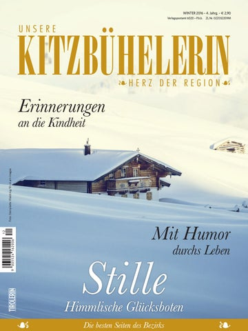 Unsere KITZBÜHELERIN Winter 2016 By Bundesländerinnen   Issuu