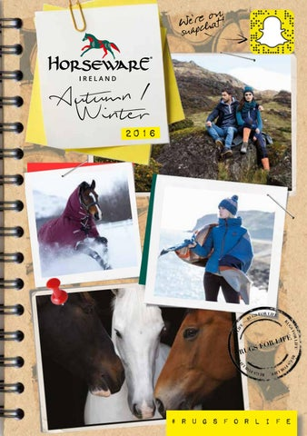 19cc688f5 AW 16 Horseware Ireland US   Consumer Brochure by Horseware Ireland ...