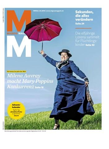 Migros magazin 49 2016 d vs by Migros-Genossenschafts-Bund - issuu