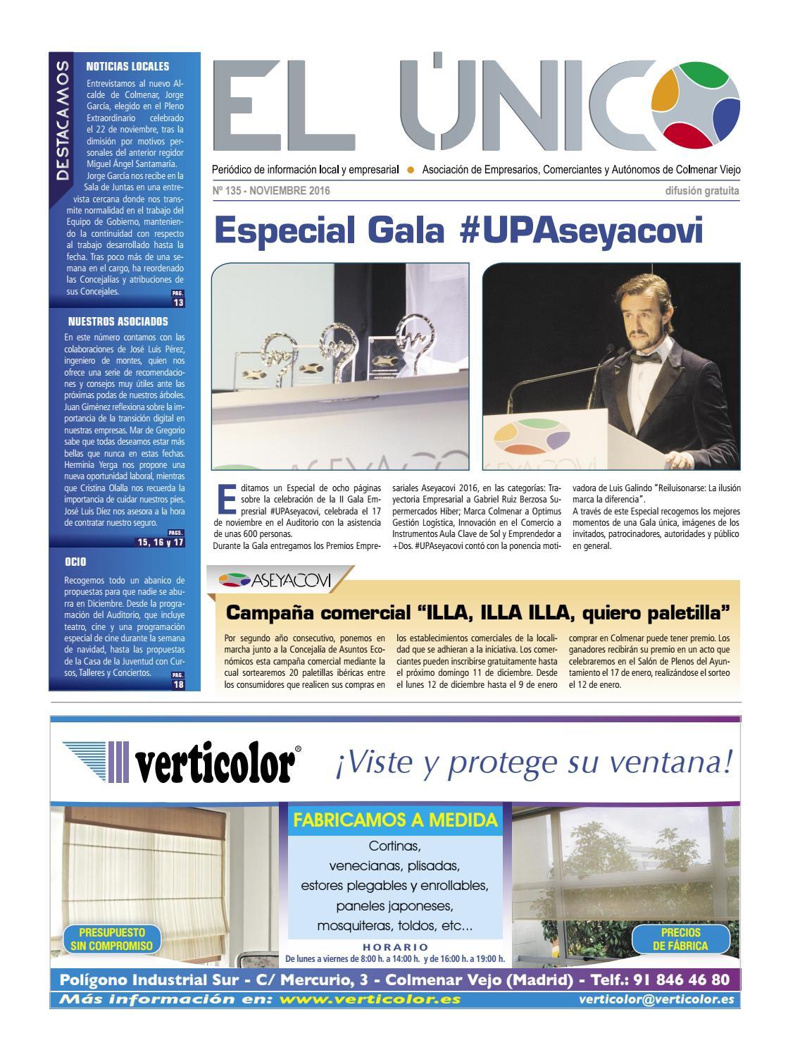 El Único 135 :: Noviembre 2016 by Aseyacovi - issuu